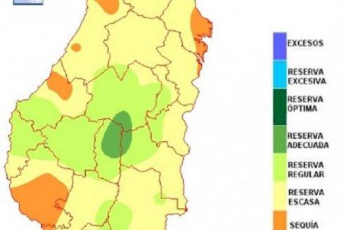 En Entre Ríos el balance hídrico refleja que el retroceso es muy significativo
