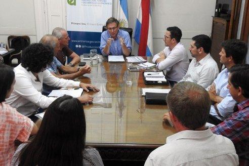 La provincia analizó con el sector tambero la actualidad de la cadena productiva