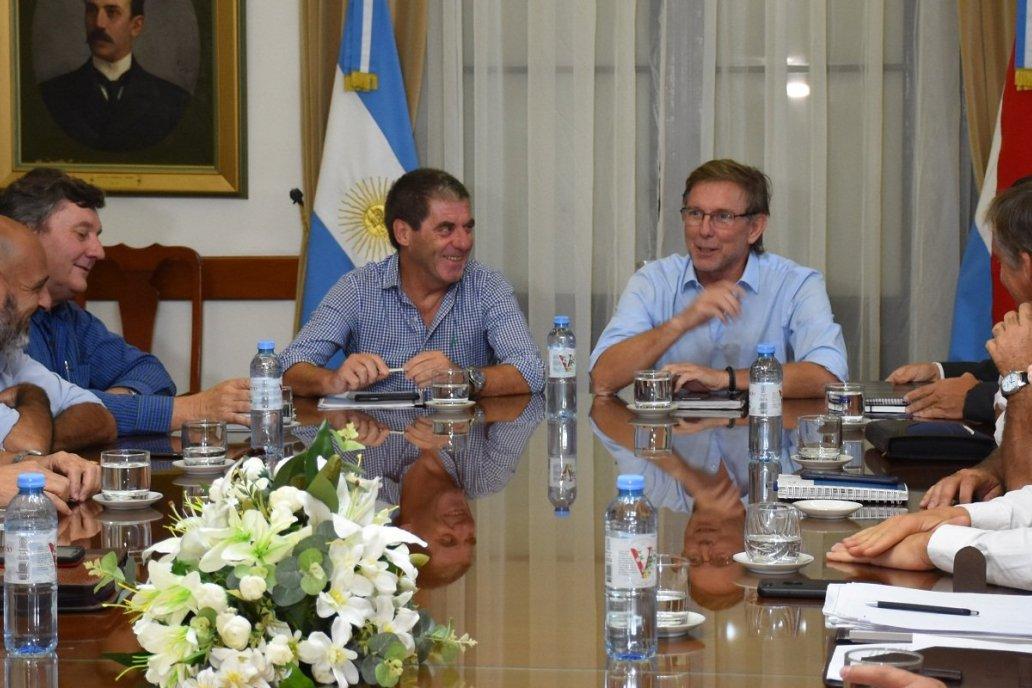 El gobierno y  la Mesa de Enlace evaluaron la actualización del IIR en E. Ríos