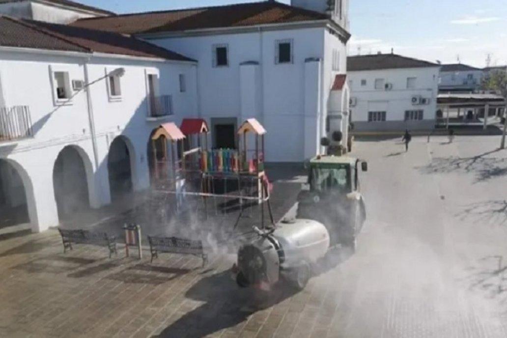 Productores de E.Ríos se ofrecen para hacer aplicaciones urbanas de desinfección