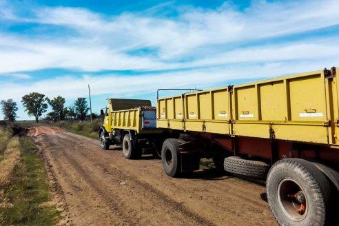 Vialidad realiza mejoras en caminos rurales del departamento Colón