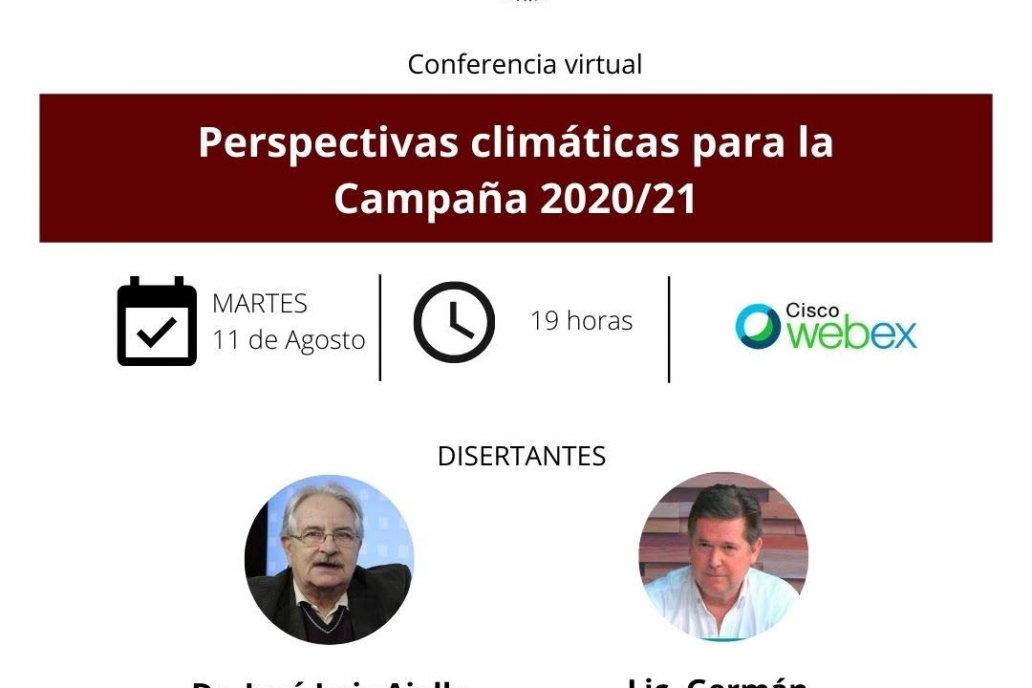 Perspectivas climáticas para la campaña 2020/21