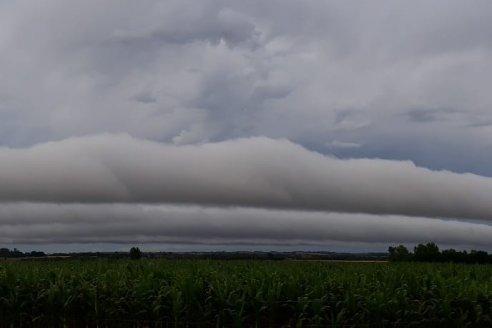 Hay pronóstico de lluvias para el norte entrerriano
