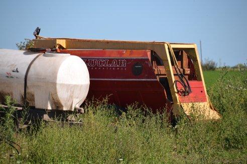 Antonio y Victor Veik - Vista a Establecimiento El Porvenir - La Clave es producir leche de muy buen pasto