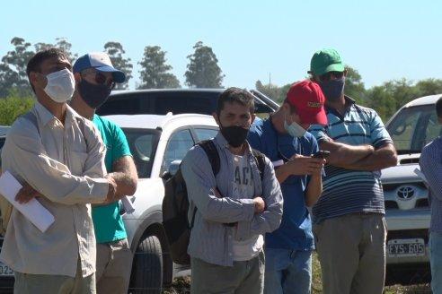 Día a Campo de Arroz - Campo Experimental de Fundación PROARROZ - San Salvador