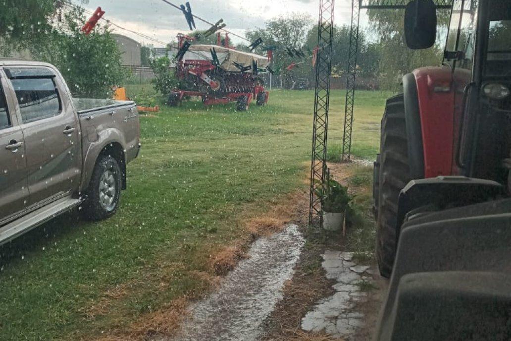El sur provincial no registró precipitaciones Gentileza Grupo Lluvia