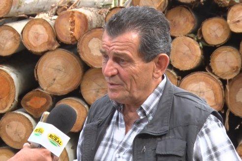 Alejandro Giudici - Productor Forestal -  Visita a Campo de los Nietos