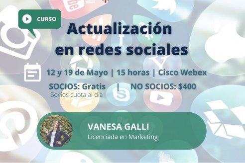 Actualización en redes sociales para periodistas agropecuarios