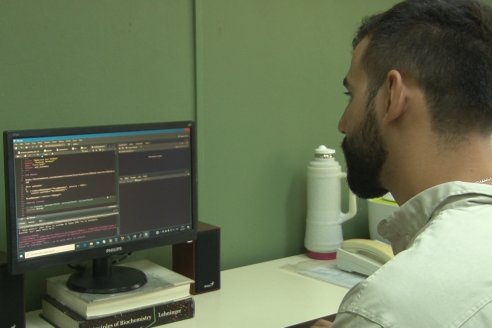 Rodrigo Machado - Biotecnólogo INTA Concordia - Biotecnología para el control precoz del HLB