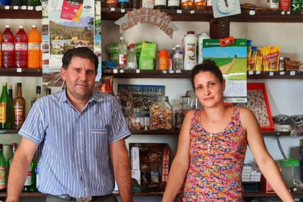 Julio y Dolly están al frente del negocio que es una postal rural en si mismo.