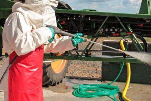 Con pulverizadoras limpias las aplicaciones resultan más eficientes