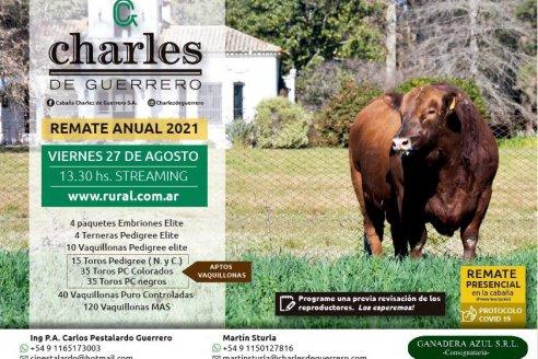 Charles, la cabaña Angus más antigua del país concreta su remate anual, presencial y on line