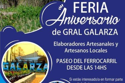 Feria aniversario de Galarza